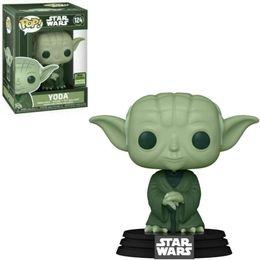 Boneco-Funko-Pop-Star-Wars-Mestre-Yoda-124-Eccc-2021